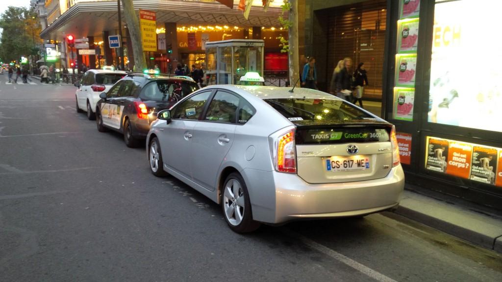 Les artisans taxis doivent ils vraiment craindre les vtc for Garage des taxis g7
