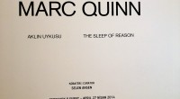 Entrer dans l'univers de Marc Quinn n'est pas chose facile. L'exposition Le sommeil de la raison qui se déroule du 8 février au 27 avril 2014 dans la galerie ARTER, […]