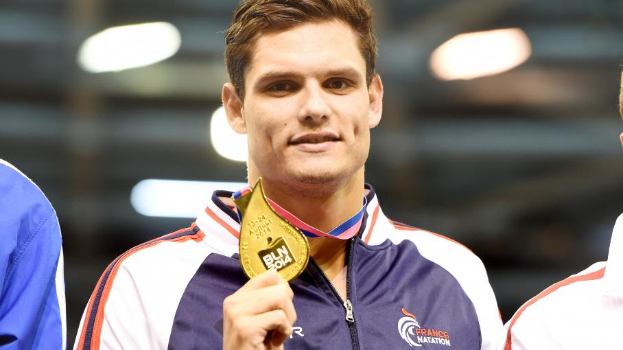 champion natation français