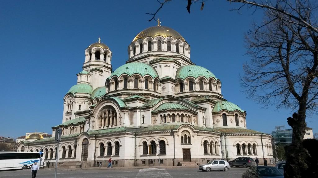 Cathedrale orthodoxe Alexandar Nevski