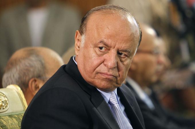 Le président Hadi, représentant légal du Yemen