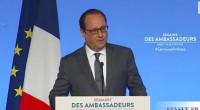 S'adressant à la Turquie, le président français François Hollande a déclaré cet après-midi, lors d'une réunion avec les ambassadeurs français présents à Paris dans le cadre de la Semaine des […]