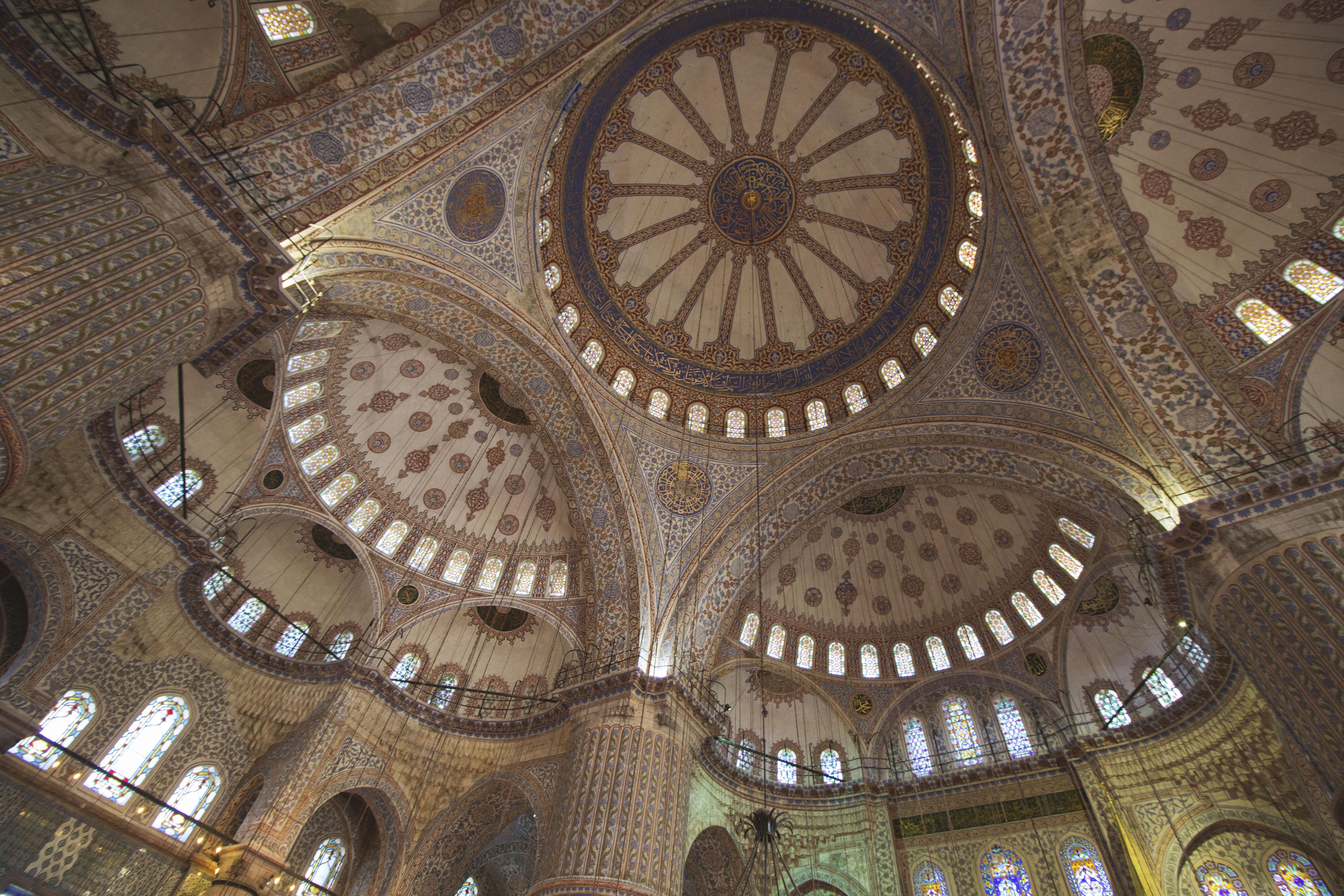 Istanbul en images 3 la mosqu e bleue aujourd 39 hui la for Interieur de la kaaba