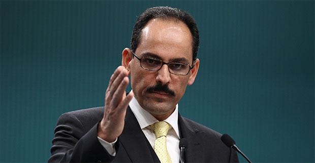 Le porte-parole de la présidence, Ibrahim Kalin