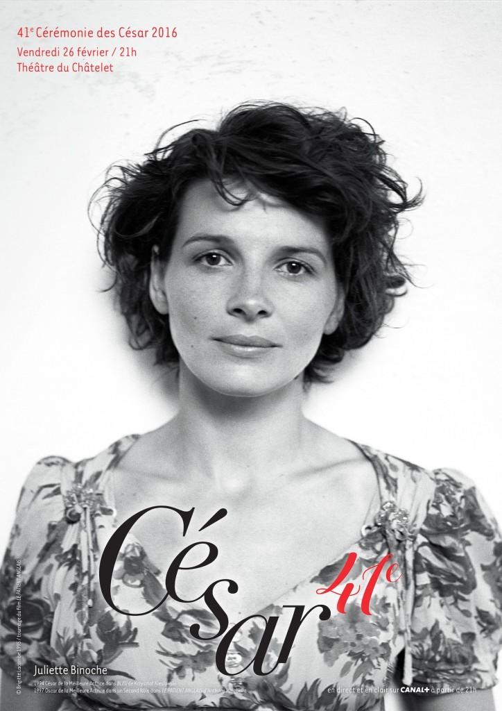 César 2016 AFFICHE OFFICIELLE