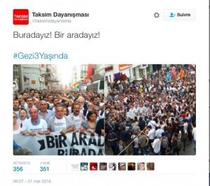 Gezi le 31 mai 2016
