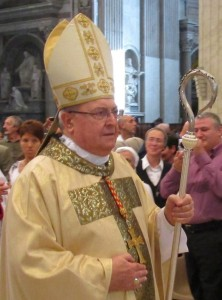 Le cardinal Sandri