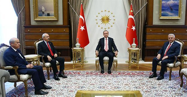 4'lü toplantıCumhurbaşkanı