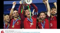 Le Portugal est sorti vainqueur de l'Euro 2016 en battant la France 1-0 durant les prolongations. Une première dans l'histoire du foot portugais et une terrible amertume pour la France.