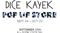 C'est en pleine Fashion Week parisienne que Dice Kayek, la marque des sœurs Ece et Ayse Ege ouvre un pop-up store dans le 6e arrondissement de Paris.