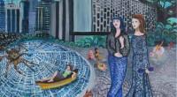 Jusqu'au 6 novembre se tient à la galerie d'art Galerist l'exposition «Hayal Meyal» d'Elif Uras. L'exposition présente de nouvelles peintures et céramiques d'İznik.