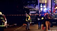 Lundi 19 décembre dans la soirée, un camion a surgi devant l'église du Souvenir dans la capitale allemande, faisant au moins neuf morts et une cinquantaine de blessés.