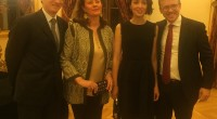 Mardi 6 décembre, le nouveau Consul général de France à Istanbul, Monsieur Bertrand Buchwalter, et son épouse, Sülün Aykurt Buchwalter, donnaient une réception en l'honneur de leur arrivée.