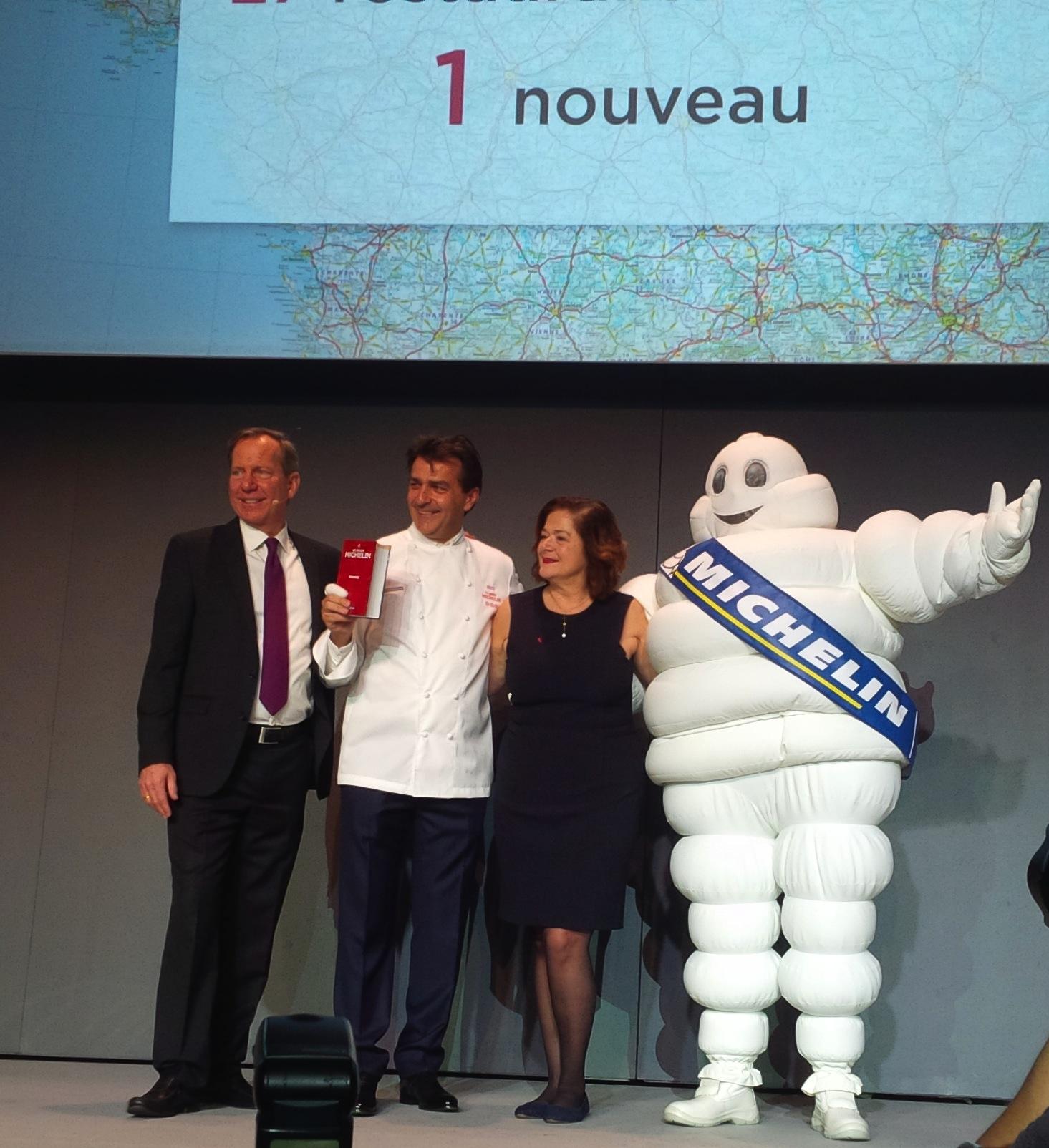 Yannick Alleno Michelin