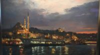 Javad Soleimanpour expose au Galerie Seven du 16 mars au 5 avril 2017 Kadıköy Moda caddesi No : 42/A Istanbul Javad Soleimanpour, artiste présidentiel