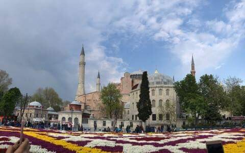 diaporama tapis de tulipes au coeur d 39 istanbul aujourd 39 hui la turquieaujourd 39 hui la turquie. Black Bedroom Furniture Sets. Home Design Ideas