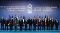 C'est aujourd'hui que s'est tenu le 25e sommet des chefs d'État et de gouvernement de l'Organisation de coopération économique de la mer Noire (OCEMN), à Istanbul.