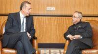 Dimanche 30 avril marque la première visite depuis sept ans d'un Président turc en Inde.