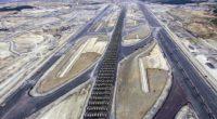 Un nouveau record Guinness du plus grand défilé de camions a été établi dans le troisième aéroport d'Istanbul actuellement en construction.