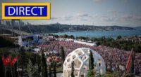 La Turquie a organisé une série d'événements samedi pour célébrer le premier anniversaire de la défaite de la tentative du coup d'État de l'année dernière.