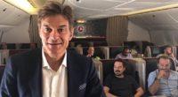 La compagnie aérienne Turkish Airlines a lancé un nouveau projet intitulé «Fly Good Feel Good» en collaboration avec le chirurgien cardiaque mondialement connu, le Dr Öz.