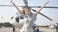 À seulement 27 ans, Burcu Dinçer est devenue la première pilote d'hélicoptère bombardier de Turquie.