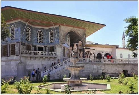 istanbul les jardins du palais de topkapi vont changer. Black Bedroom Furniture Sets. Home Design Ideas