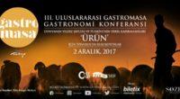 Du 2 au 18 décembre se tiendra la troisième Conférence internationale de gastronomie: Gastromasa.