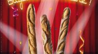 En France, du lundi 14 mai au dimanche 20 mai 2018, la Fête du Pain mettra en avant la baguette, sous toutes ses formes. Pour l'occasion, une baguette inédite sera […]
