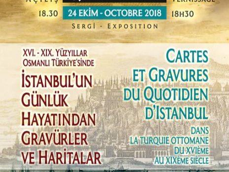 Du 24 octobre au 23 novembre, ne manquez pas l'exposition «Cartes et gravures du quotidien d'Istanbul dans la Turquie ottomane du XVème au XIXème siècle» qui, avec le concours de […]