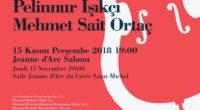 Jeudi 15 novembre, le lycée Saint-Michel, à Istanbul, sera l'hôte d'un récital de contrebasse et de piano. Un événement à ne pas manquer.