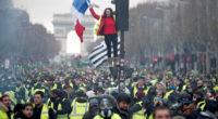 En France, nous avons terminé l'année 2018 avec le mouvement des «gilets jaunes» qui se poursuit en 2019.
