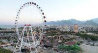 La seconde plus haute grande roue d'Europe, «Le cœur d'Antalya», a été installée dans la célèbre ville balnéaire du pays, Antalya. Son inauguration s'est déroulée dimanche 11 août.