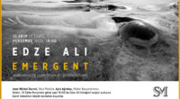 Du 10 au 25 octobre, ne manquez pas l'exposition photographique, intitulée «Emergent», d'Edze Ali au lycée français Saint-Michel, à Istanbul. Le vernissage aura lieu le 10 octobre, à 19 h.