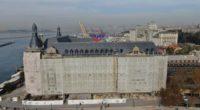 La restauration de la gare de Haydarpaşa, monument historique situé sur la rive asiatique d'Istanbul, va bientôt prendre fin.