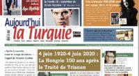 Le numéro de juillet d'Aujourd'hui la Turquie ainsi que son supplément en français et en turc ont été préparé grâce au travail d'une équipe de 40 personnes. Téléchargez notre application […]