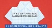 Les 1eret 2 septembre prochains, au Carreau du Temple à Paris, la 18èmeédition annuelle de Made in France Première Vision accompagnera la reprise de l'industrie française et portera ses territoires […]