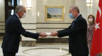 Le 19 août, le Président Recep Tayyip Erdoğan a reçu l'Ambassadeur de France en Turquie, M. Hervé Magro, dans le complexe présidentiel de Beştepe, à Ankara.