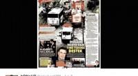 Au lendemain des attentats d'Istanbul du 7 juin, ayant fait 11 morts, la plupart des journaux turcs avaient fait des évènements tragiques leur une. La première page du quotidian Güneşest […]