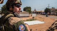 Le président François Hollande a annoncé que l'opération militaire Sangaris, lancée en 2013 en Centrafrique, prendrait fin en octobre. Le pays connaît actuellement un regain de tensions.