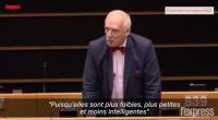 Jeudi 9 mars, le Parlement européen a décidé de sanctionner l'eurodéputé polonais Janusz Korwin-Mikke pour ses propos sexistes.