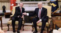 Le président turc Recep Tayyip Erdoğan s'est rendu à la Maison Blanche mardi 16 mai afin rencontrer pour la première fois son homologue américain Donald Trump.