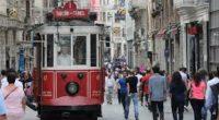 Le 30 décembre, le tram historique de l'avenue İstiklal, qui relie la place Taksim à la station haute du funiculaire d'Istanbul (Tünel), a de nouveau repris du service.