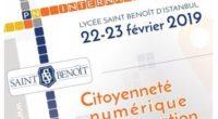 Les 22 et 23 février aura lieu la 5ème édition du Printemps Numérique International au lycée français Saint Benoît, à Istanbul.
